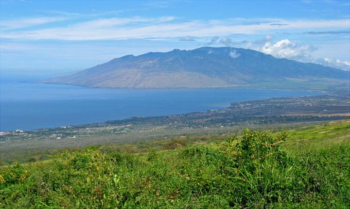 西邊風景上火山