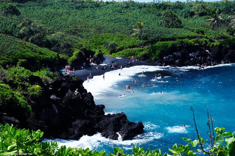 黑沙灘(Pailoa Beach)