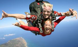 Skydiving 高空跳傘