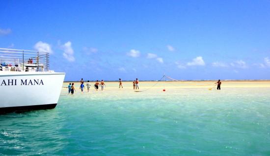 戀夏旅遊, 夏威夷自由行私人導遊 - Kaneohe Sandbar 天國之島