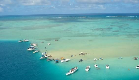 Kaneohe Sandbar 天國之島