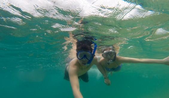 戀夏旅遊, 夏威夷自由行私人導遊 - Kaneohe Sandbar 浮潛