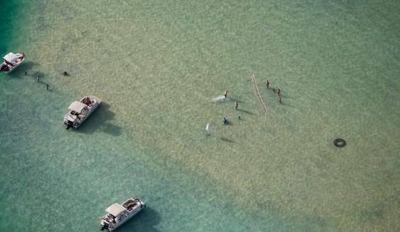 戀夏旅遊, 夏威夷自由行私人導遊 - Kaneohe Sandbar 沙灘排球